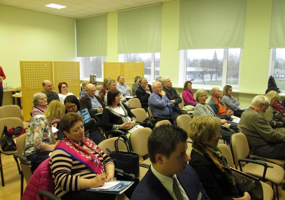 ESEB organizētais seminārs daudzdzīvokļu ēku iedzīvotājiem