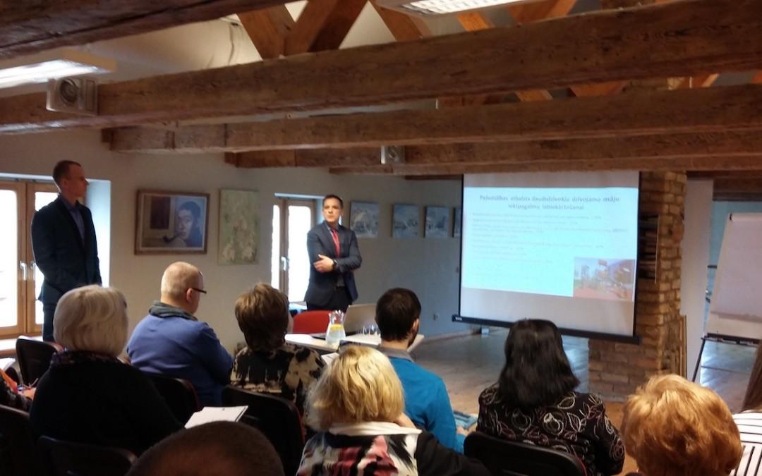 Otrajā seminārā Ventspilī piedalās 38 dalībnieki
