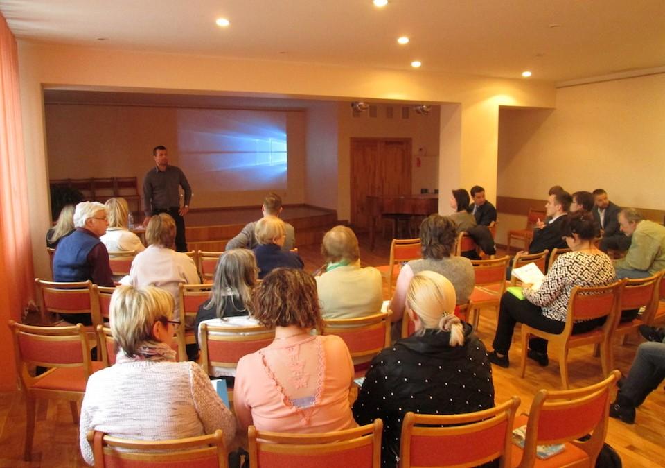 Daudzdzīvokļu ēku atjaunošanas seminārs Salaspilī